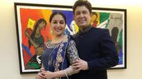 See Picture: Madhuri Dixit just wished her hubby on his birthday and it's ADORABLE!
