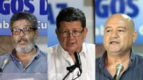 3 FARC commanders to lead guerrillas disarmament process in Colombia