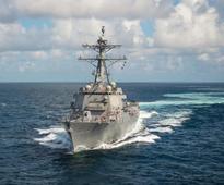 US Navy receives new Arleigh Burke-class destroyer USS John Finn