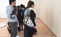 Pair of glasses left at San Francisco museum mistaken for art