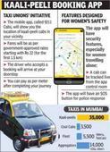 Mumbai's kaali-peelis to get an app this month
