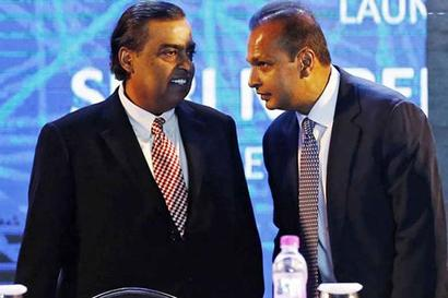 The Contrasting Telecom Fortunes Of Mukesh And Anil Ambani
