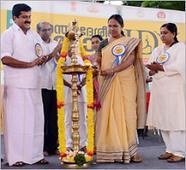 Minister Shylaja questions Sanskrit shloka in Yoga Day event