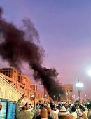 Suicide bombing near Medina's main mosque