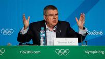 Bach rejects blame on IOC decision