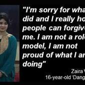 'Dangal' girl apologises for 'hurting Kashmiris'