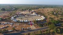 Champaner tent city finds few takers