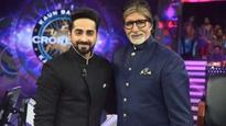 Kaun Banega Crorepati 9 preview: Ayushmann Khurrana to recite his poem in front of Amitabh Bachchan