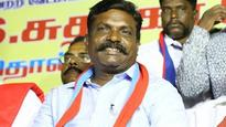 TN polls: Change will come only via coalition govt, says Thirumavalavan