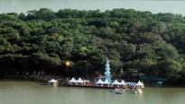 Bhavani Island woos Pushkaram pilgrims with its frills