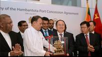 Sri Lanka signs $1.1 billion deal to lease Hambantota port to China