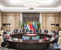 Xi Jinping Attends BRICS Leaders' Informal Meeting