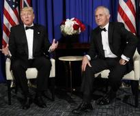 Trump meets Turnbull, declares 'love' for Australia