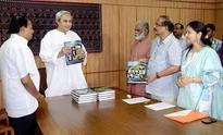 Gyanamandal Foundation presented new edition of Odia encyclopedia Gyanamandal to Odisha CM