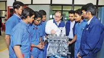 Maruti Suzuki training students at ITI Pusa, making them job ready