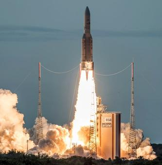 ISRO's communication satellite GSAT-17 launched successfully from French Guiana