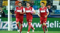 Carpi relegated despite Udinese win, Palermo beat Hellas Verona to stay up