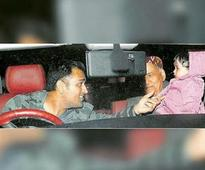 In pics: MS Dhoni and different avatars of his adorable daughter Ziva
