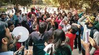 JNU students boycott classes against attendance circular