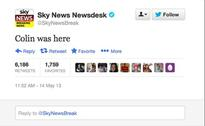 Sky News says Colin tweet was disaster recovery test, not hack