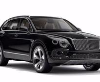Bentley launches SUV 'Bentayga' in India at Rs 3.85 cr