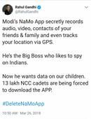 BJP Claims NaMo App Data Is Safe – Quietly Changes Privacy Policy