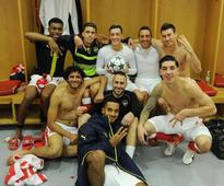 Richard Dunne rips into Arsenal players after dressing room photo