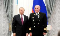 Russian President awards Mikhail Suslin Naval Order of Merit