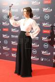 Dolores Fonzi dedicates Best Actress Platino Prize to all women