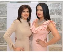Celina Jaitly unveils exquisite couture jewellery collection By Paulomi Sanghavi