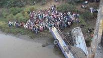 37 killed as bus falls into river in India