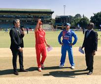 Zimbabwe elect to field against India in third T20I