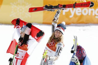 Winter Olympics: Czech shredder Ledecka stuns Alpine world with gold