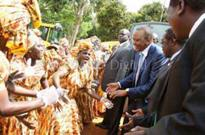 Locals disappointed at Uhuru's strict itinerary in Western