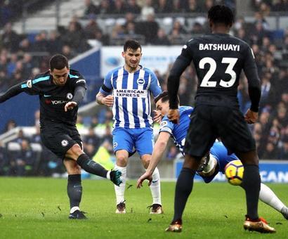 PHOTOS: Aguero treble gets City back on track; United keep up chase