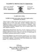 Taarifa kutoka Taasisi ya Moyo ya Jakaya Kikwete kuhusu kambi za upasuaji wa moyo
