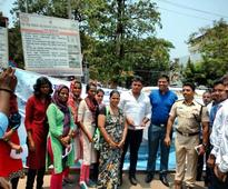 Mangaluru police join hands with students on World Water Day awareness campaign