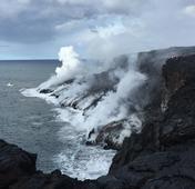 4 essential travel tips on seeing lava hit the sea off Hawaii Island