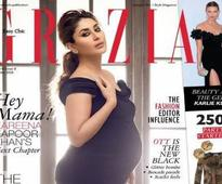 Heavily pregnant Kareena Kapoor is grace personified on Grazia cover