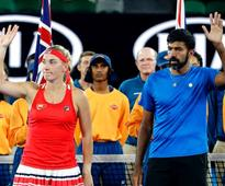 Australian Open: Bopanna-Babos lose mixed doubles final