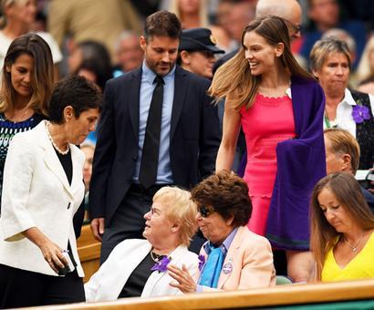 PHOTOS: When Hollywood biggies descended at Wimbledon