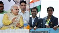 Watch: Haryana CM Manohar Lal Khattar thinks silver girl PV Sindhu is from Karnataka!