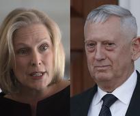 Gillibrand Vows toOppose Mattis as SecDef