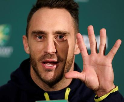 Du Plessis handed total reins of South Africa team