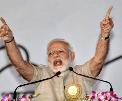 From Parliament to streets, Oppn is creating hurdles: Modi
