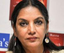 Shabana Azmi gets jittery before shoot