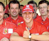 July 1, 2001: Schumacher cruises 50th win