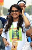 In pictures: These celebrities made Mumbai Marathon a star-studded affair