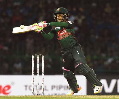 Mushfiqur stars as Bangladesh beat SL in record win