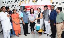 Sakshi Malik honored with Shifa gold medal